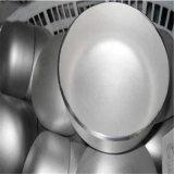 ステンレス鋼は平らなヘッドによって皿に盛られたエンドキャップを皿に盛った
