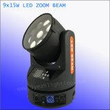 Haed 빛을 이동하는 9*15W 4in1 급상승 LED 광속과 세척