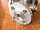 Valvola a sfera di modo della flangia 3 dell'acciaio di getto