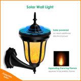 Tanzen-Nachtlicht Solarder wand-Licht-flackerndes Flamme-96 LED im Freien