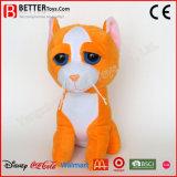 Gatto molle animale del giocattolo della peluche farcito regalo poco costoso di promozione