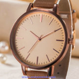 De Digitale Horloges van de Manier van het Horloge van het Kwarts van het Embleem van het Merk van de douane van Gouden Kleur (wy-17008F)