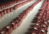 La impresión de tarros de vidrio de color de alta calidad