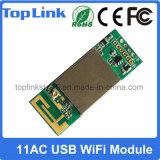 module à deux bandes du WiFi 600Mbps encastré par USB de 5m01 802.11AC pour le boîtier décodeur