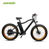 La grasa de la nieve neumático de bicicleta eléctrica para el ejercicio de la montaña