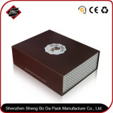 Caixa de presente de papel de empacotamento personalizada do retângulo da impressão