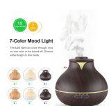 Aria ultrasonica Humudifier del diffusore dell'olio essenziale del diffusore dell'aroma del grano di legno caldo di vendita