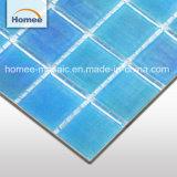 Cuadrada Iridesccent mosaico de vidrio piscinas al aire libre Piscina mosaicos