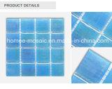 В форме квадрата Iridesccent стеклянной мозаики открытый плавательный бассейн плитки