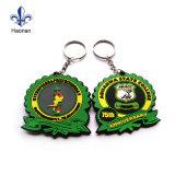 도매 주문 선전용 선물 PVC Keychain