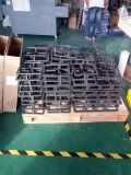 Un acciaio inossidabile dei cinque bruciatori del costruito di in fresa del gas con il supporto della vaschetta del ghisa