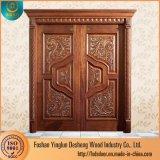 Desheng Kerala meilleur plat principal Dessins et modèles de porte en bois de teck