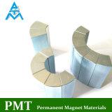 N28uh Lichtbogen-Magnet mit Neodym-und Zink-Beschichtung