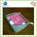 도매 주문 명확한 비닐 PVC 지퍼 부대 (JP plastic017)
