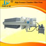 Filtre-presse à haute pression de membrane/membrane utilisé pour le cambouis d'eaux résiduaires