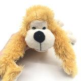 Juguetes chillones del animal doméstico de perrito de la seguridad del Chew suave del perro