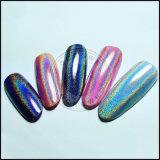 Сахар красочные голографический лак для ногтей Блестящие цветные лаки порошок лак для ногтей искусства Chrome пигмента