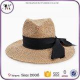 カスタムロゴによって印刷される昇進の麦わら帽子