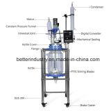 Isolant chemisé pour produits chimiques pour la vente de réacteur de polymérisation en verre