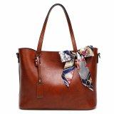 Cuoio dell'unità di elaborazione del messaggero del sacchetto di spalla delle borse del Tote delle borse della cartella della maniglia della parte superiore della borsa delle donne