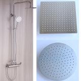 Douche ronde de salle de bains d'acier inoxydable de la tête 304