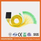 diviseur d'AP d'ABS-Cadre de la fibre optique 2X32