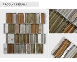 Mattonelle di mosaico variopinte irregolari dipinte a mano di vendita superiori di vetro/metallo