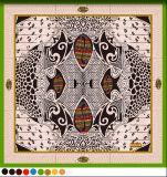Acajoubaum-Form-Quadrat-Seide-Schal