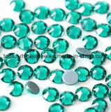 2088 5a Новейшие лучшие Ss20 синий циркон горячей фиксации стекла Rhinestone Crystal Копировать Preciosa камня (HF-SS20 синий циркон)