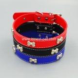Toebehoren van de Hond van de Toebehoren van het Huisdier van de Kraag van het Puppy Pu van China de Goedkope