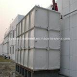 GRP FRP стекловолоконные вид в разрезе сборки резервуар для хранения воды