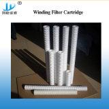 Cadena de hilado de polipropileno bobinado de la herida el cartucho de filtro para el hogar o filtrado Industrial