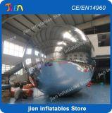 PVC 팽창식 미러 풍선, 3m/4m/5m 단계 훈장을%s 팽창식 미러 공 헬륨 풍선, 짜개진 조각 색깔 풍선