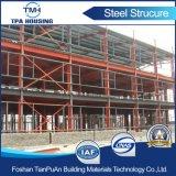 저가 Prefabricated 가벼운 강철 구조물 창고