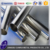800 Grit Mirror Seamless Tube en acier inoxydable 316L