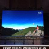 P7.62 실내 풀 컬러 LED 영상 벽
