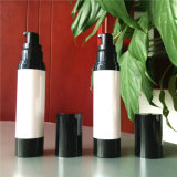 30ml de zwarte Plastic Fles Zonder lucht van de Pomp voor Skincare