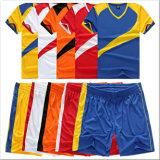 パターンデザイン昇華によって印刷されるジャージーのサッカー