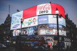 Impresión al aire libre a todo color de Digitaces que hace publicidad de la bandera de la flexión del vinilo del PVC