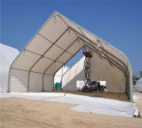 40mのスパンの大きく膨脹可能な倉庫によって曲げられるテント