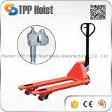 Ручной гидравлический погрузчик для транспортировки поддонов