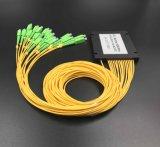 Gpon de telecomunicaciones de fibra de color 1X16 Sistemas PLC Splitter
