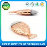 Freier haar-Fisch-Form-Verfassungs-Pinsel des Beispiel1pcs Nylon