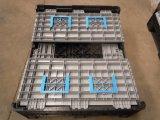 SGS esmaga plástico grandes recipientes para granel sólido compartimentos de Mega Pesado Caixa palete