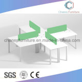 مستقيمة شكل أثاث لازم خشبيّة طاولة اللون الأخضر حاجز مكتب [ووركستيتون] [كس-و1801]