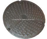 OEM Ductile ronde /plaque d'égout à l'extérieur de la fonderie de fer de moulage