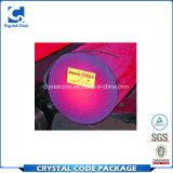 Etiqueta autoadhesiva da alta temperatura adhesiva impermeable de encargo