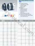 Selo mecânico B680 1 do fole do elastómetro