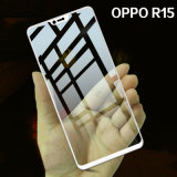 Oppo R15のための3D緩和されたガラススクリーンの保護装置