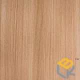 Papel decorativo da grão da madeira de carvalho amarelo para o assoalho, a porta, a cozinha ou a mobília do fabricante chinês
